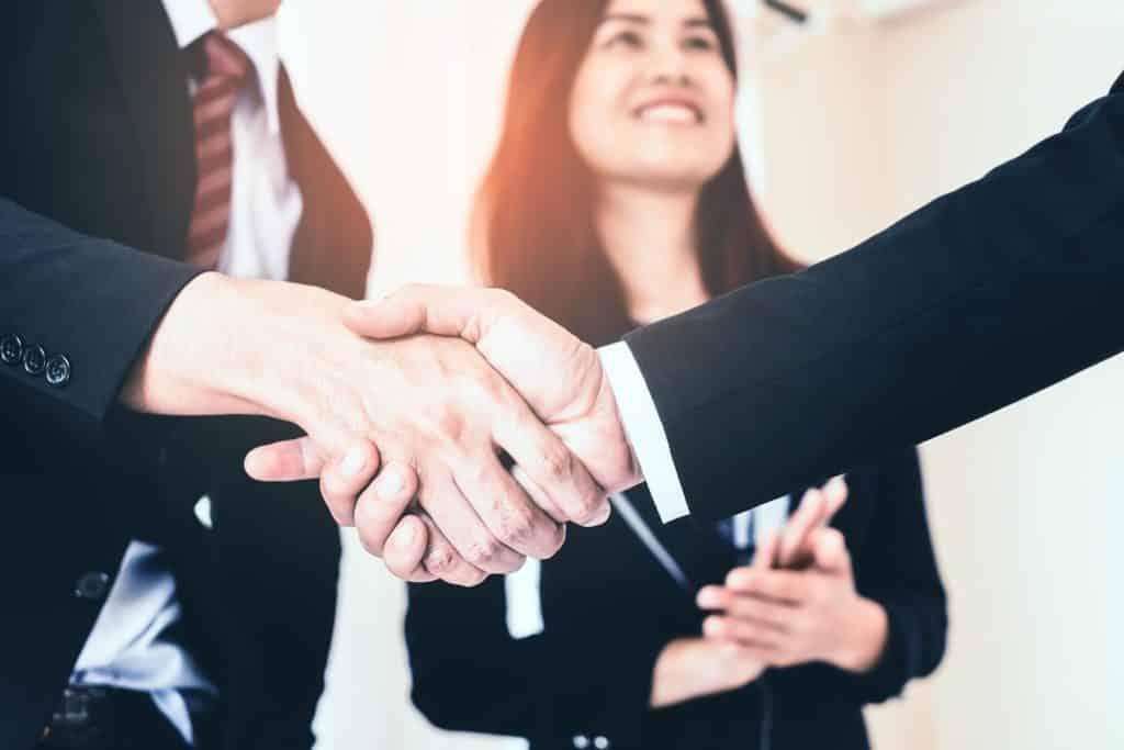 handshake bg
